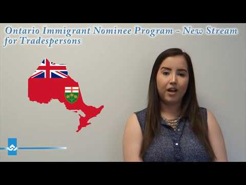 Ontario Immigrant Nominee Program   New Stream for Tradespersons