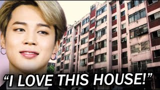 Why did BTS Jimin Buy an Old, Shabby House? He is so SMART!