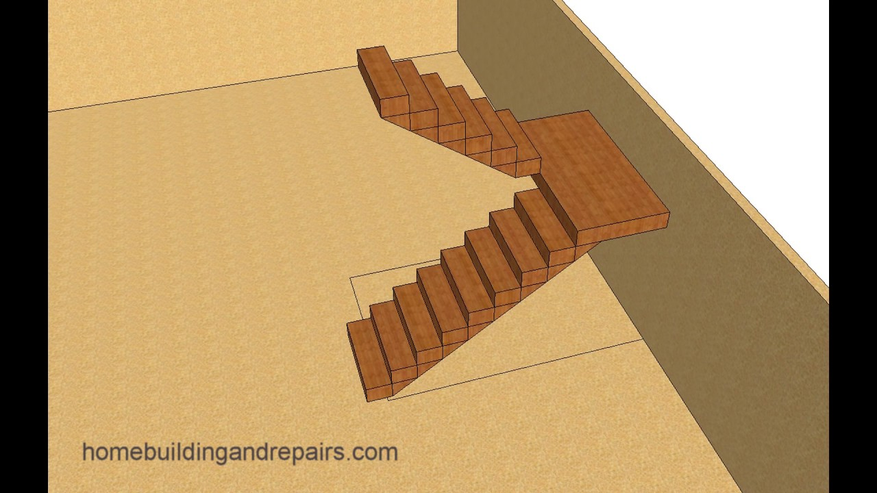 Basement Stair Landing Decorating: Ideas For Designing Landing Stairs In Small Spaces