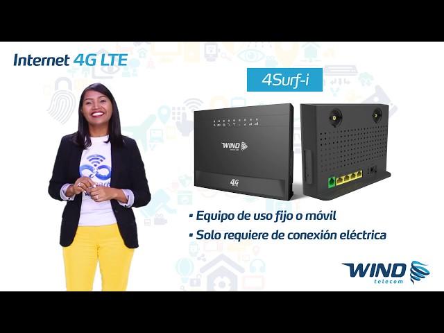 Internet Wind Equipos 4G LTE