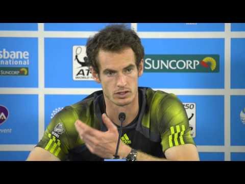 Andy Murray Final press conference:...
