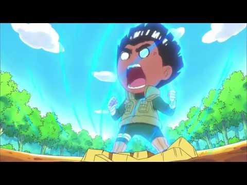 Naruto SD OPENING [Give Lee] w/Lyrics (English)