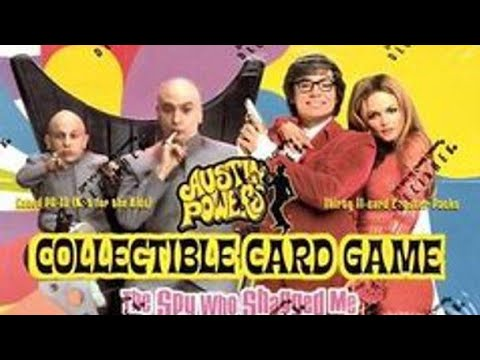 Unboxing A Austin Powers CCG Booster Box