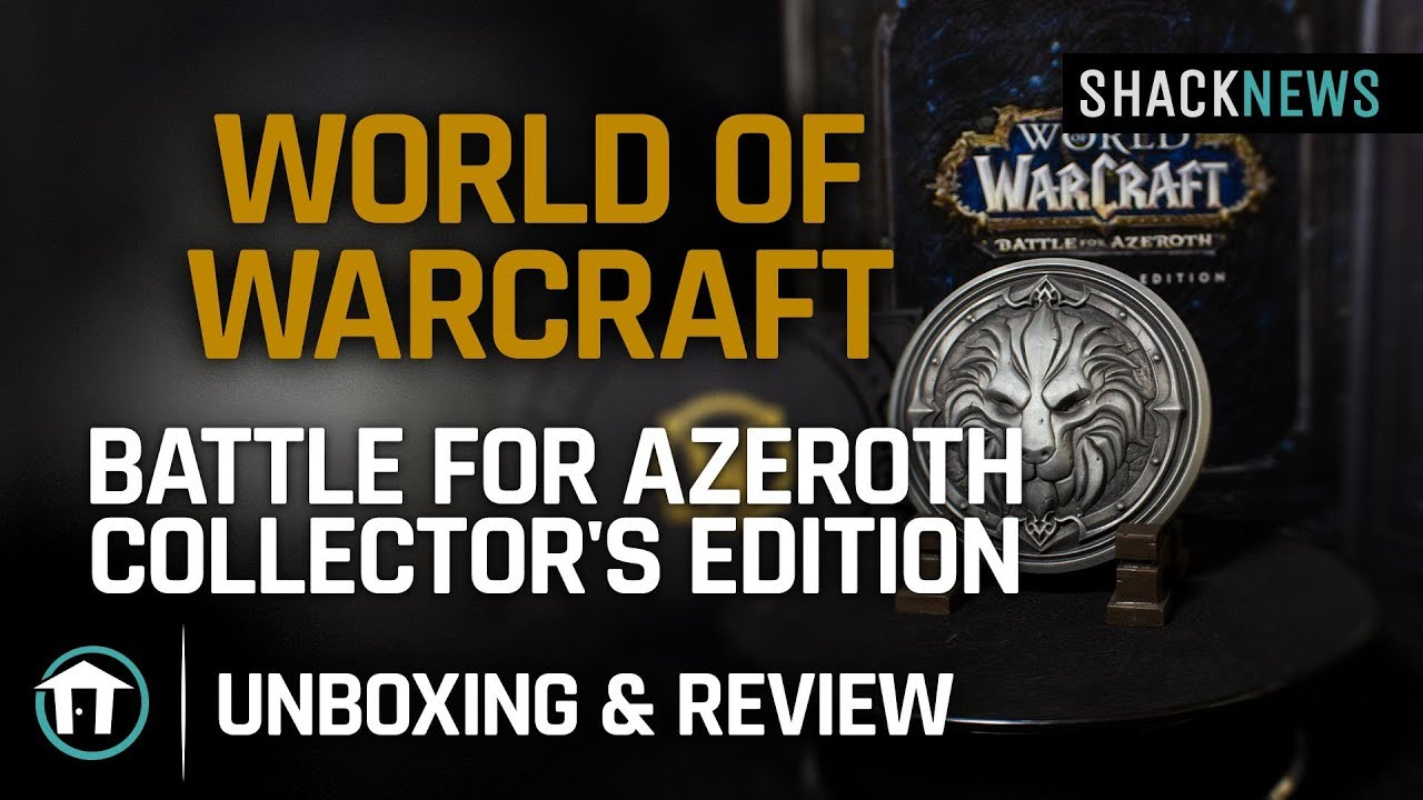 wow bfa collectors edition unboxing