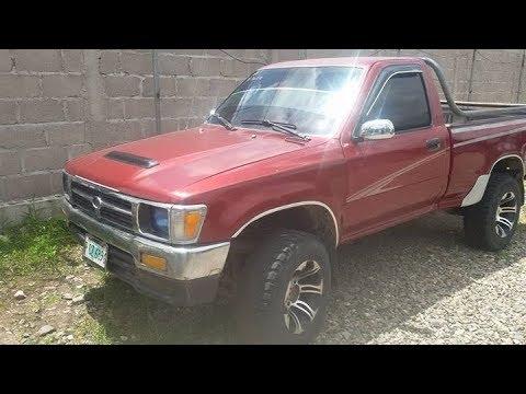 Toyota 22r Año 1993 4x4 En Venta Honduras