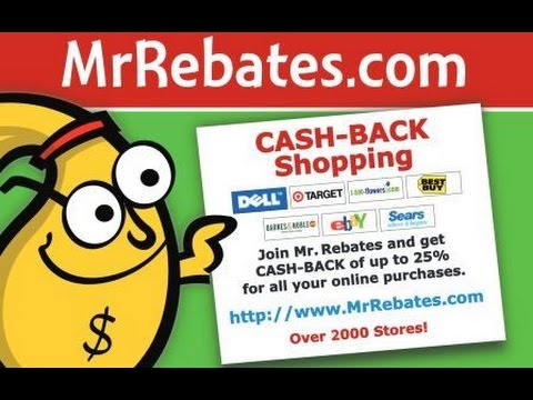 d20bfdfd063 How to Get Cash Back When Shopping Online with Mr. Rebates - Guide to  Couponing - YouTube