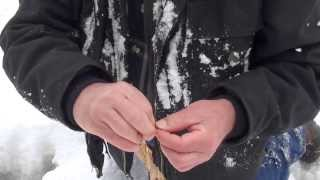 Easy Natural Cordage Using Fireweed