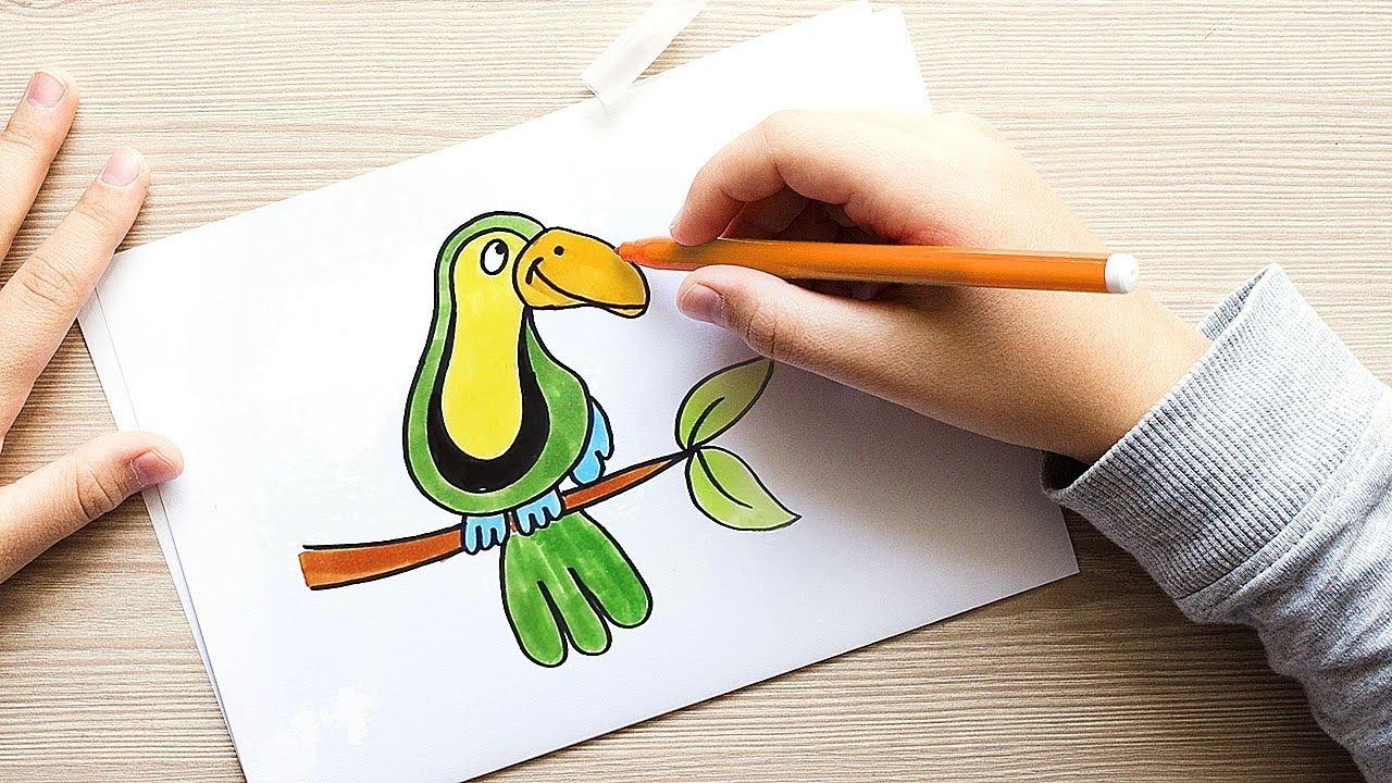 Zeichnen für Kinder - Malen auf einfache Weise lernen ...