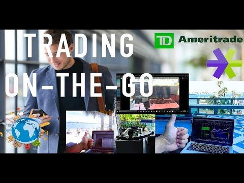 6 Tips For Mobile Trading - Trading On The Go - ThinkorSwim - ETrade - Best Platform Options Trading