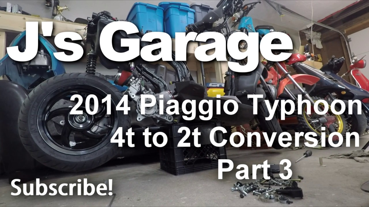 2014 Piaggio Typhoon 4t To 2t Conversion Part 3 Wiring J S Garage