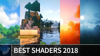 Minecraft: BEST SHADERS 2018 - TOP 9 Shaders for Minecraft 1.13 / 1.12 (Shader Pack Comparison)