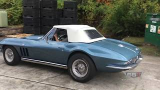 Paul visits SST with his 65 Vette