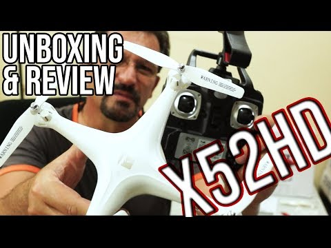 Magic Speed X52HD Quadcopter Drone Review