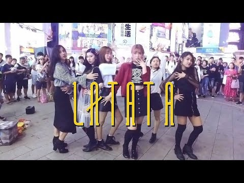 [KPOP IN PUBLIC CHALLENGE] (G)I-DLE ((여자)아이들) 'LATATA' Cover by KEYME