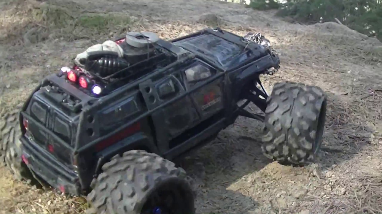 Apocalypse Traxxas Summit - clear body made by Proline Racing