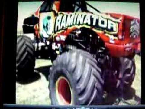 Monster Truck Dodge Raminator Visits Pontiac IL