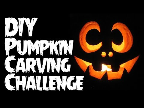 DIY Pumpkin Carving Challenge LIVE!!!