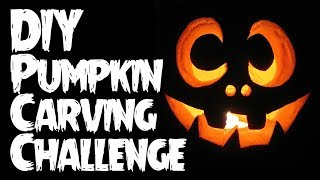 DIY Pumpkin Carving Challenge LIVE!!!
