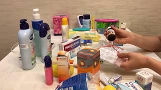 Аптечка для новорожденного ребенка 0 - 6 месяев