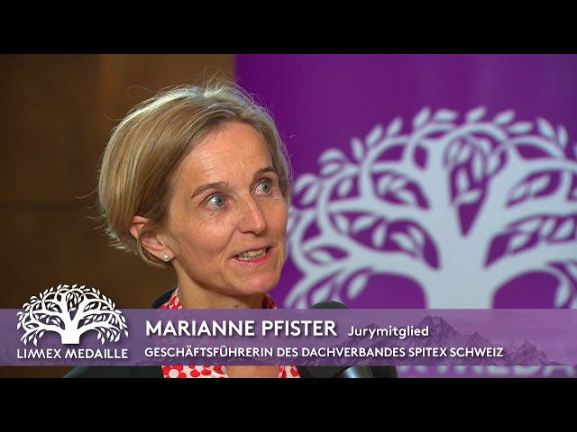 Marianne Pfister (Geschäftsführerin des Dachverbandes Spitex Schweiz)