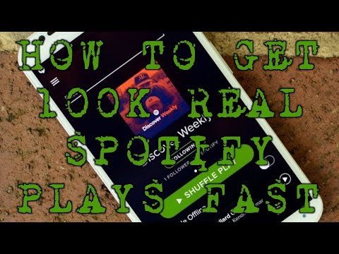 How to Get 100k Real Spotify Plays Fast
