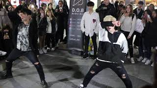 Dob busking Exo - the eve fancam 190319