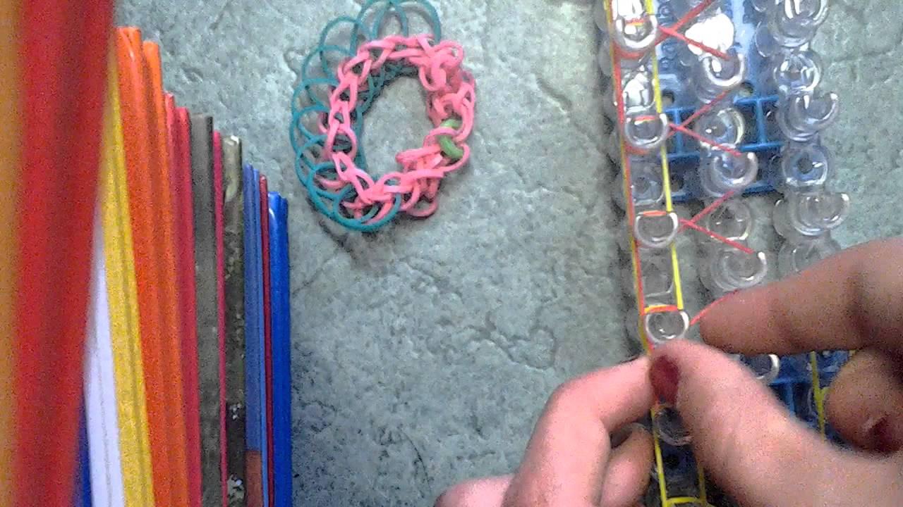 comment faire un bracelet chenille en lastiques youtube. Black Bedroom Furniture Sets. Home Design Ideas