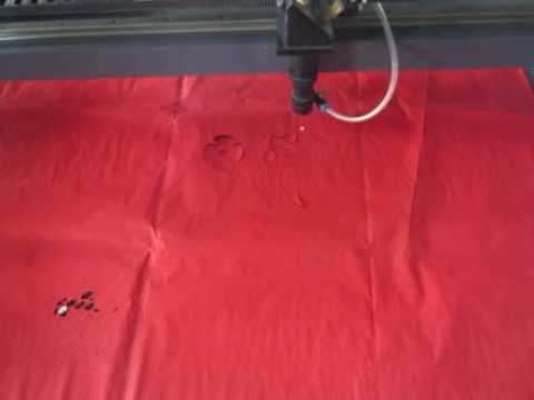 Papercraft paper laser cutting machine