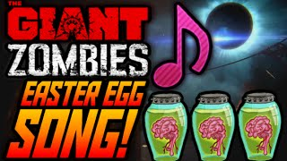 "Black Ops 3 ZOMBIES THE GIANT EASTER EGG SONG GUIDE! ""Beauty of Annihilation REMIX"" Easter Egg Song!"