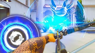 Placing a BRONZE Player with INFINITE ULT In a MASTER Game Can He Carry Overwatch