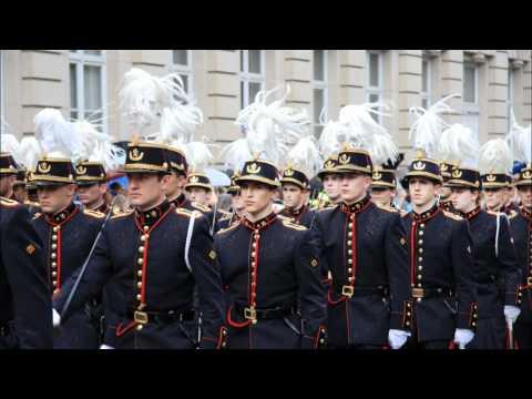 Ecole Royale Militaire Belge - Mars van de Belgische Militaire school