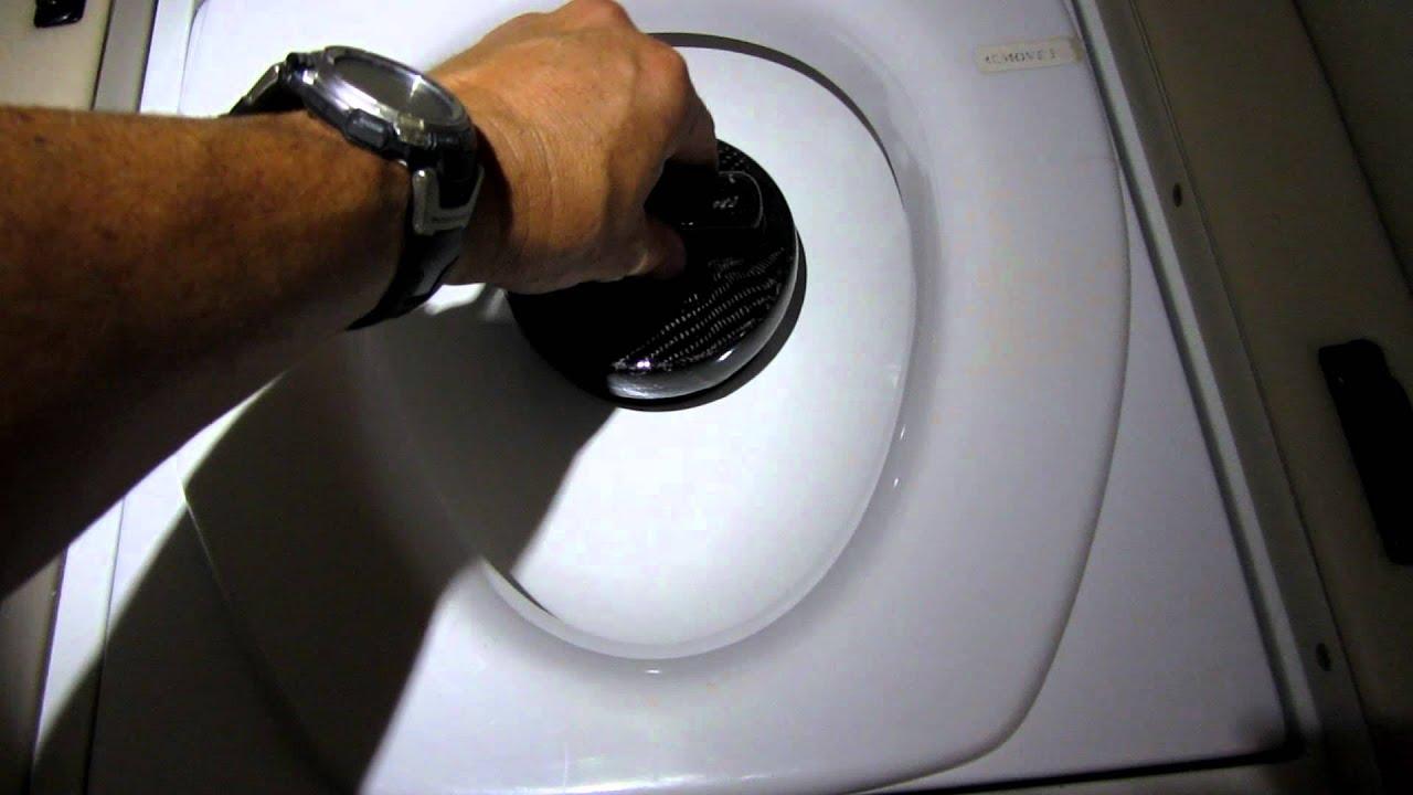Hawker Beechcraft Premier 1a Carbon Fiber Toilet Plug Mod