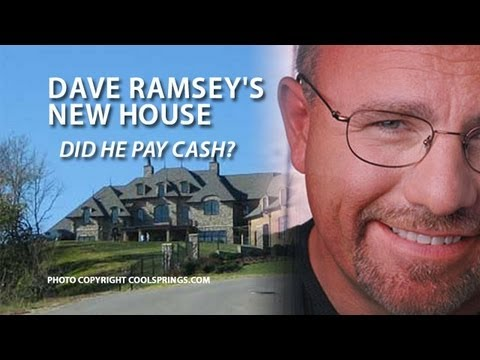 Dave Ramsey S New House Dave Comments About His New House His Debt