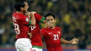goal raphael maitimo of indonesia aff suzuki cup 2012