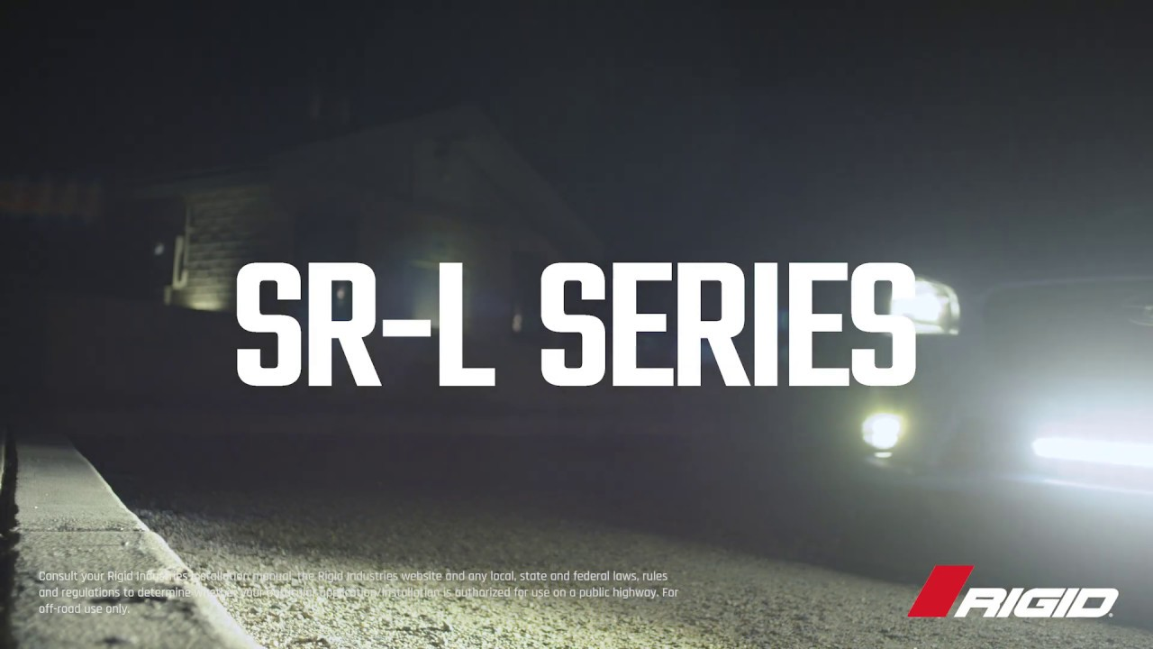 Rigid Sr L Series 20 Led Light Bar Style To Function With The Flip Of A Switch