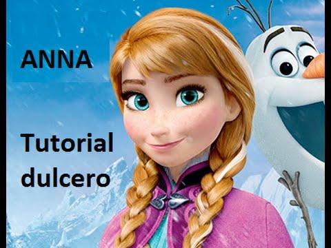 18c18234d FROZEN PRINCESA ANNA BOLSITA DULCERA / HOW TO MAKE PRINCESS ANNA FROZEN  MOVIE - YouTube