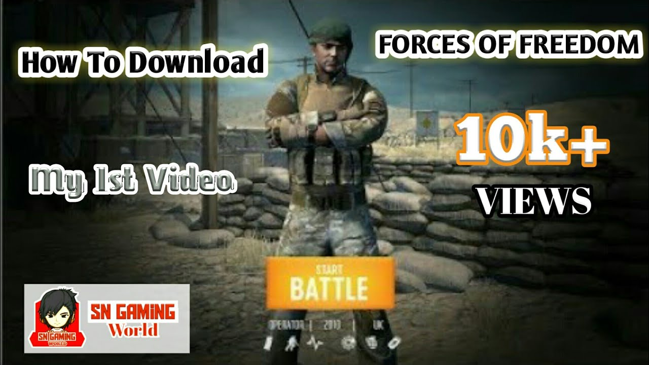 forces of freedom android download