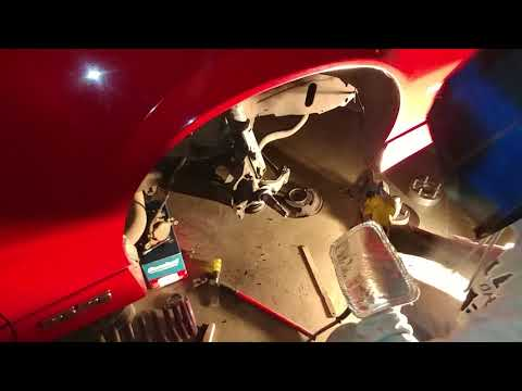 Big Brake Upgrade 3rd generation Camaro (Part 2/??) Cutting/Drilling