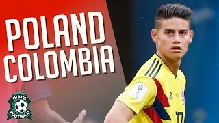 POLAND 0-3 COLOMBIA World Cup 2018 LIVE Stream Watchalong