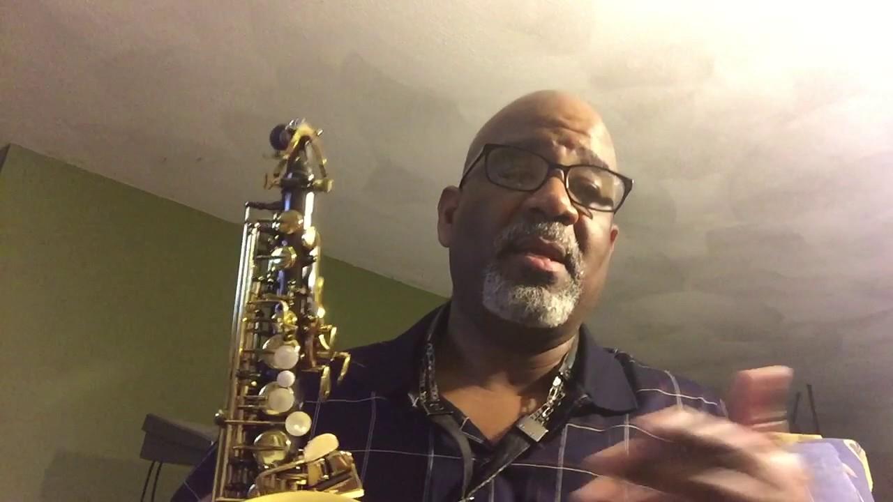 Saxophone facial exercises