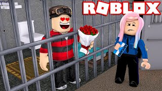 I FELL IN LOVE IN THE ROBLOX PRISON 😍❤️