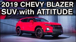 Breaking Car News: 2019 Chevrolet Blazer is a Midsize SUV