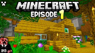 I AM *HOME*!   Python's Woŗld (Minecraft Survival Let's Play 1.18)   Episode 1