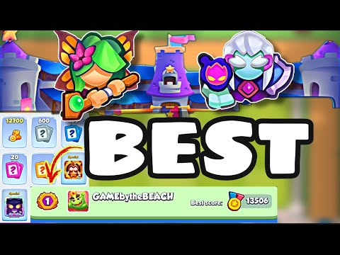 RUSH ROYALE - RUSH FOR GLORY! I WANT TO BE A LEGEND!! |