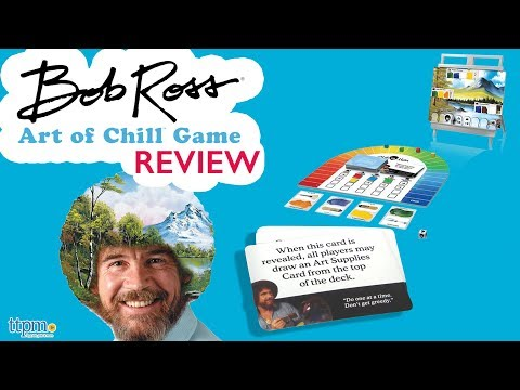 Bob Ross: The Art of Chill Game from Big G Creative