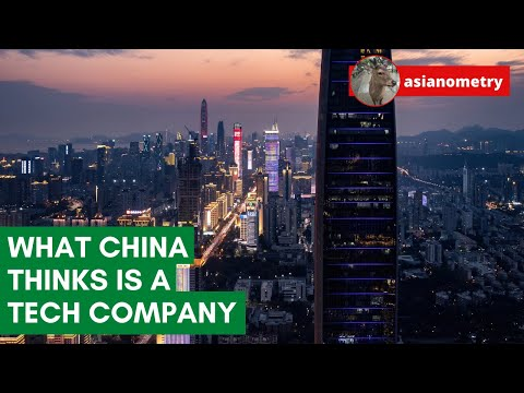 """What China Thinks is a """"Tech Company"""""""