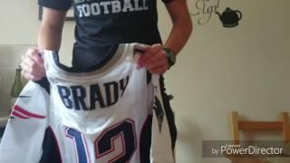 Tom Brady NFL Superbowl Jersey Unboxing