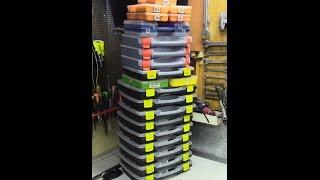 Мои ящики для мелочевки и метизов(, 2016-02-25T04:00:00.000Z)