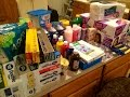 Once-A-Month Household Supplies Shopping Haul   Walmart 7/16