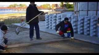 Гранитная тротуарная плитка . Плоскость -до 2мм . Руки от Мостовая Ру.(, 2015-04-16T16:07:33.000Z)